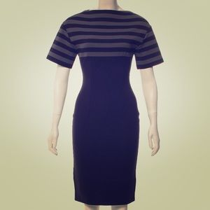 Prada Navy Knee-Length Dress